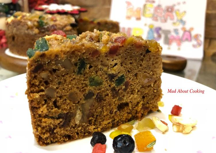 Christmas Whole Wheat Dates Dry Fruit Cake – Happy Christmas