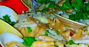 Mike's EZ Garlic Clam Linguine Alfredo
