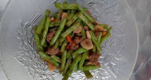 Cah/Tumis Buncis Daging Saus Tiram+Teriyaki
