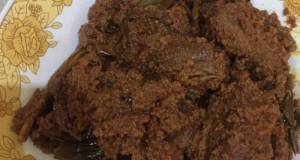 Rendang Daging Sapi