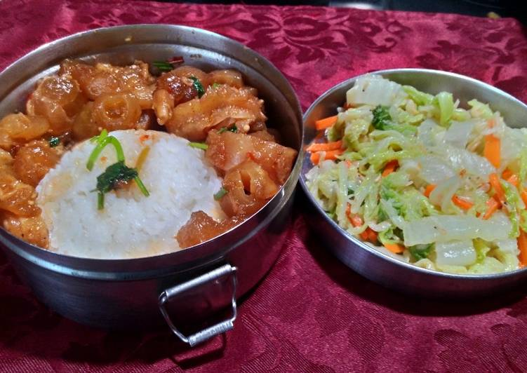 北美liuliu 發表的 麻辣牛筋&蝦皮白菜 食譜 - Cookpad