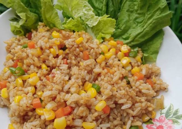 Nasi Goreng rasa Rendang (Simpel)