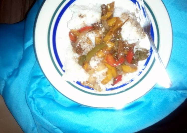 , Easiest Way to Prepare Delicious Chinese Pepper Steak