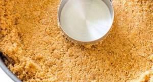 Simple Graham Cracker Crust