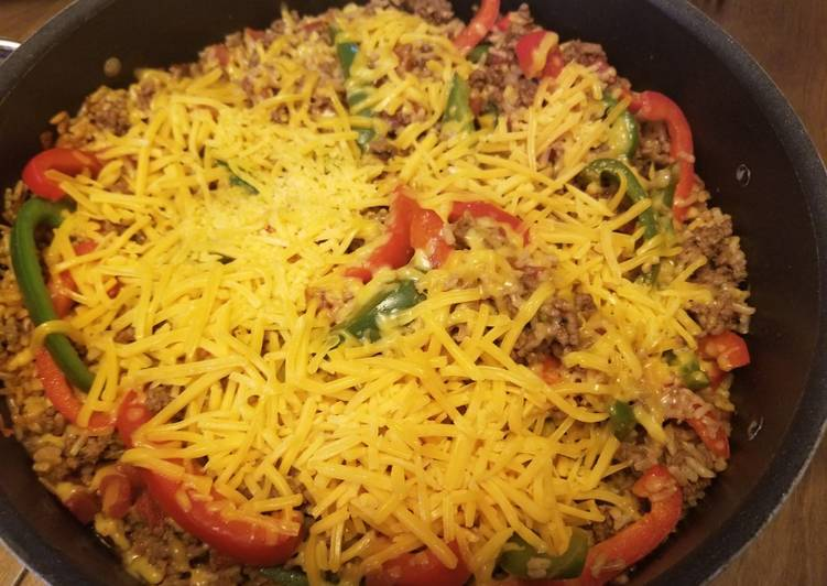 Beef and Pepper Skillet