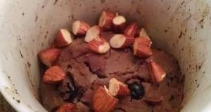 Low-Carb Paleo Gluten-Free Chocolate Blueberry Cobbler