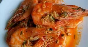 Udang saus mentega / butter garlic prawn ala me