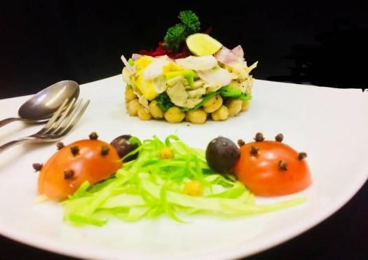 Oystreatus Salad