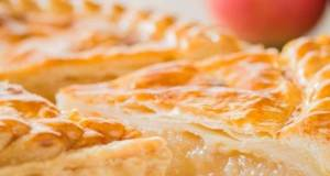 Apple Pie (Puff Pastry Dough)★Recipe Video★