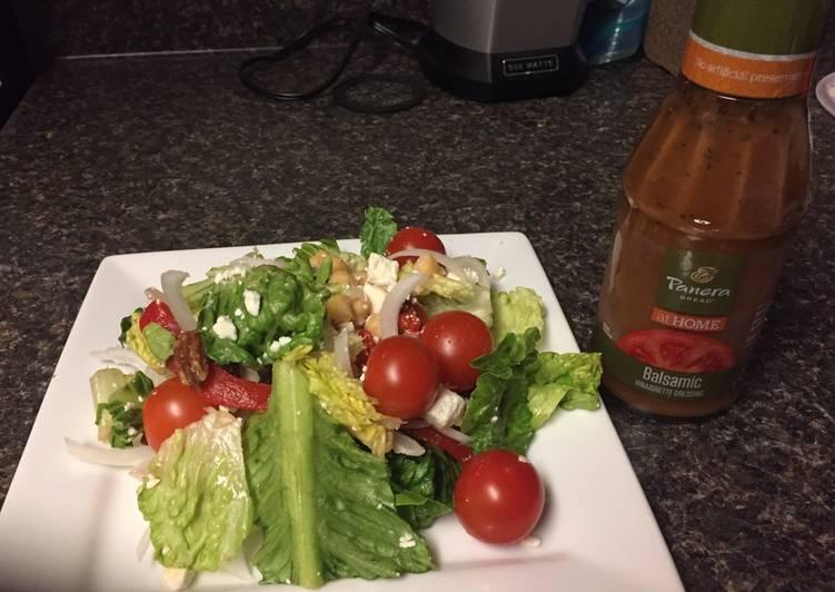 Taziki's Mediterranean Salad my version