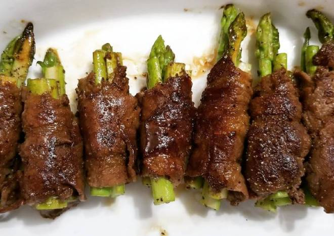 Beef Roll Asparagus