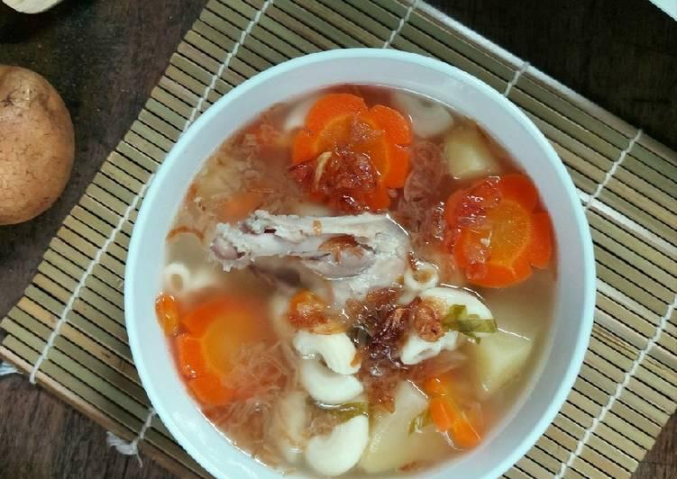 Soup Ayam Macaroni