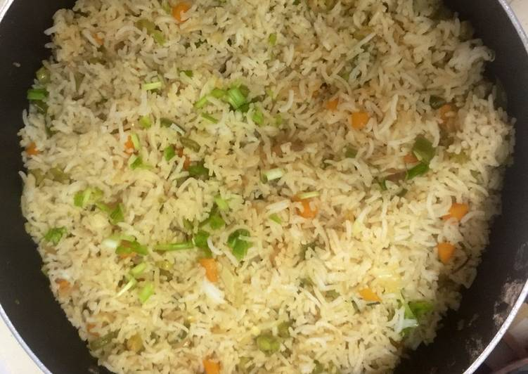 , Recipe: Perfect Chinese Veg Fried Rice