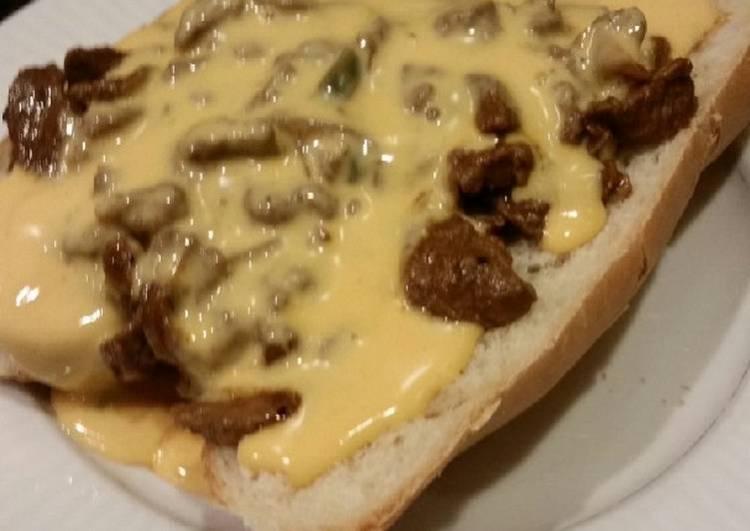 Brad's Philly style cheesesteak