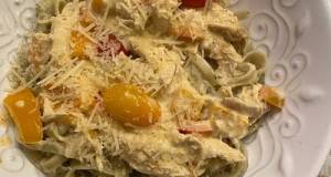 Spiced Cajun Chicken Pasta