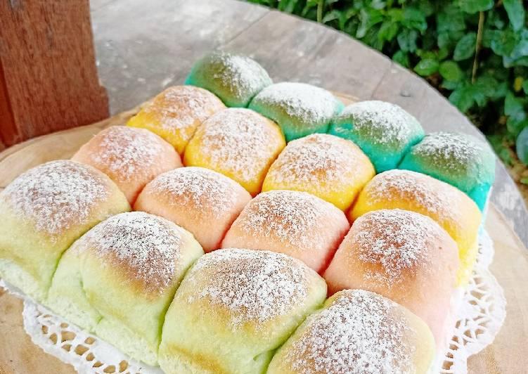 makanan kekinian Japanese Milk Bread (Roti Sobek Kekinian)