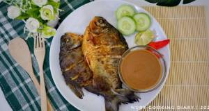 PECAK BAWAL BUMBU KACANG ala Mbak Minarsih