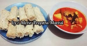 Roti Kirai with Kari Ayam