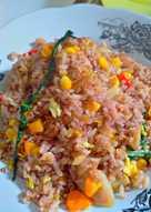 Nasi Goreng Beras Merah : goreng, beras, merah, Resep, Goreng, Beras, Merah, Sederhana, Rumahan, Cookpad