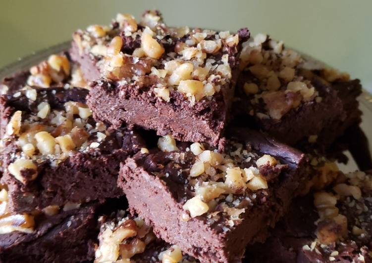 Black Bean Brownies - Gluten & Sugar Free