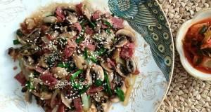 Bacon & Jamur Ala Korea