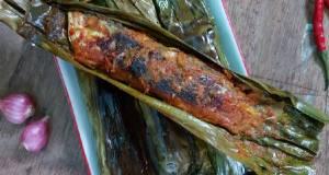 Pepes Tempoyak Ikan
