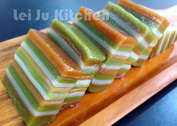 Lei Ju's Kitchen 發表的 超q彈的娘惹糕 食譜 - Cookpad