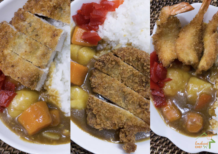 Japanese Katsu Curry - Chicken, Pork & Shrimp
