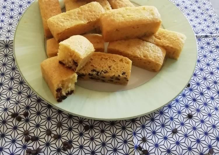 Gâteaux aux pépites de chocolat