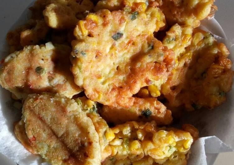 Corn Fritter (Perkedel Jagung) *Vegetarian, Vegan