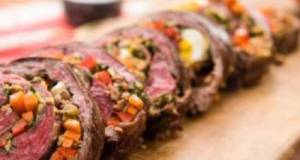 Argentinian Stuffed Steak Rolls