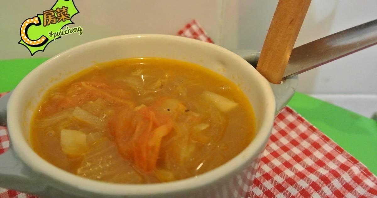 蕃茄薯仔洋蔥湯 by staub 20cm食譜 by PuiC Cheng - Cookpad
