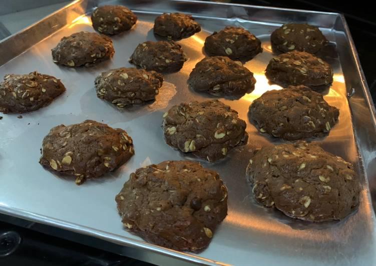 Milo Oat Cookies
