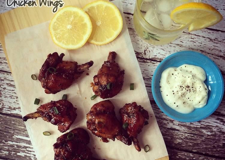 Blackpaper Honey Chicken Wings