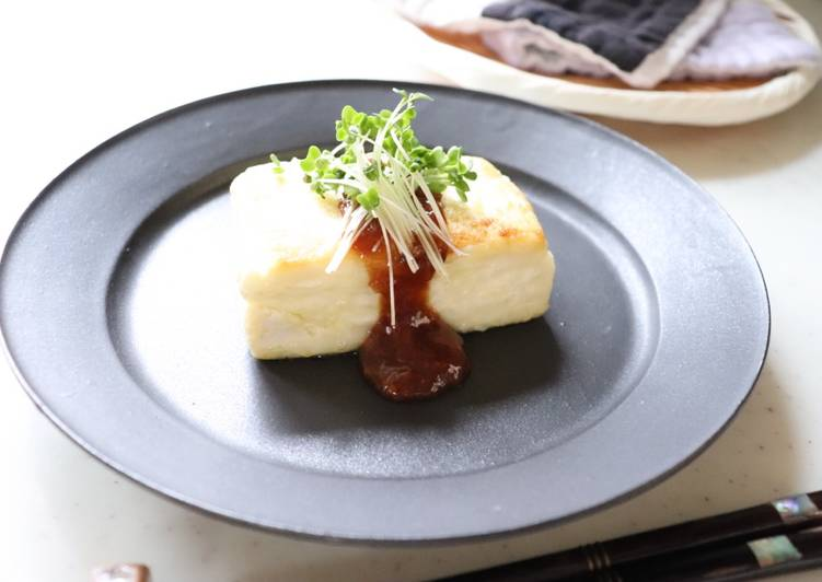 "Vegan ""Tofu"" steak"
