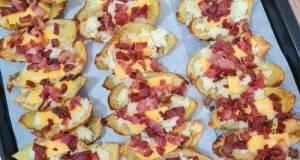 Potato Skin with Bacon