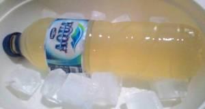 Jelly aqua aer gula dalam aqua
