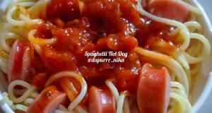 Spaghetti Hot Dog