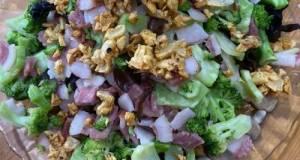 Pork Bacon Broccoli With Garlic