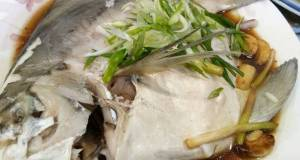Steamed White Pomfret in Superior Soy Sauce