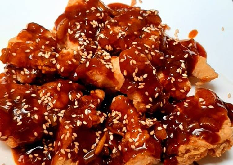 Dakgangjeong (Chruncy Korean Fried Chicken)