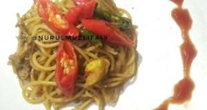Spaghetti Oriental Curry