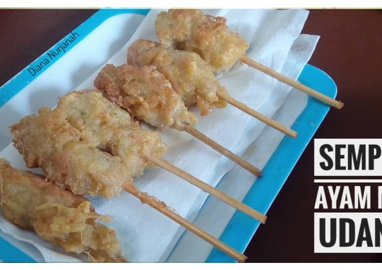 Sempol Ayam mix Udang
