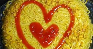 Instant Noodle Cake