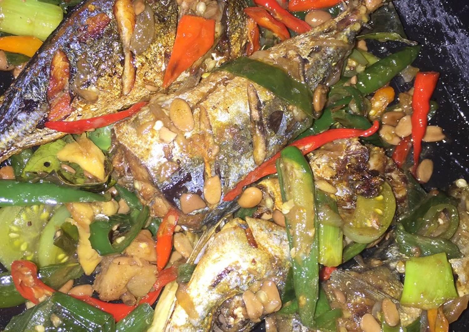 Resep Ikan Kembung Tumis Tauco Remas Nu