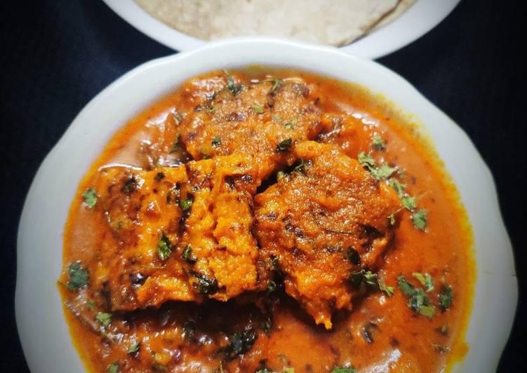 Chila Kofta curry