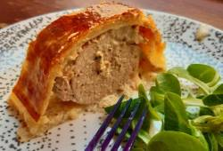 Recettes de cuisine Filet mignon en croûte Délicieux