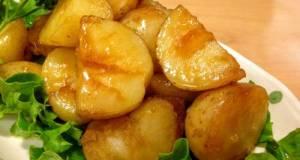 Salty-Sweet Fluffy Potatoes