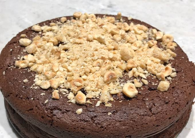 The ultimate chocolate cake (GF option available)