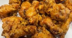 Garlic crispy chicken wing